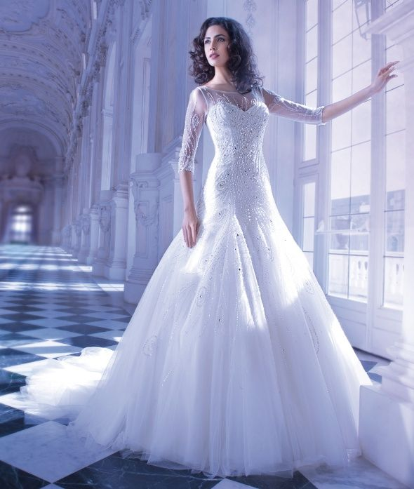 24 best Demetrios: Ilissa images on Pinterest | Wedding frocks ...