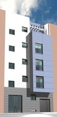 Viviendas de 3 y 4 dormitorios en Los Remedios, #Sevilla. Residencial Feria Plaza.