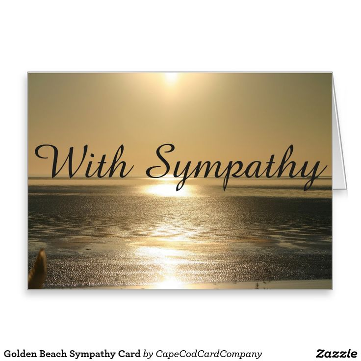 With Deepest Sympathy Card by Heartstrings Cards Boat Scene.