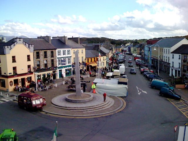 Clifden, County Galway, Ireland - I have a lot of great memories in this square... And photos!
