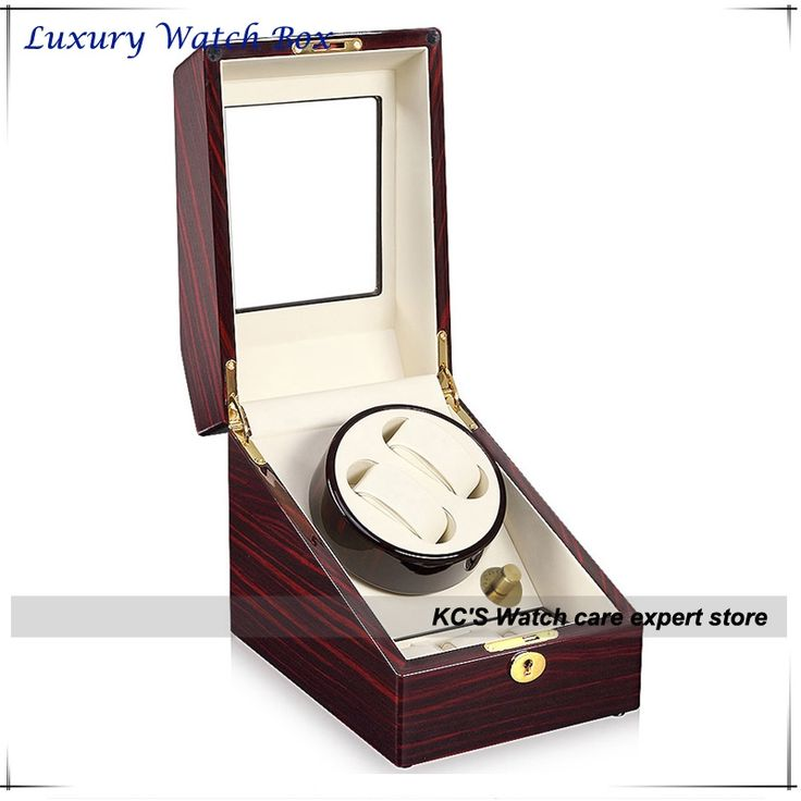 175.00$  Buy now - http://alilgh.worldwells.pw/go.php?t=1382802666 - Quality 3+2 Double Automatic Watch Box for RLX Watch Winder Japan Motor Best Christmas Birthday Father Day Gifts GC03-S24EW