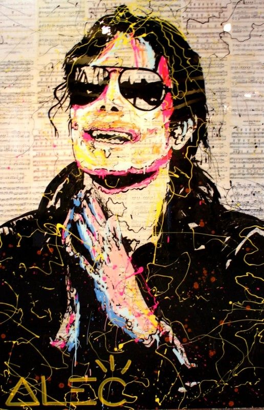 Alec Monopoly #MichaelJackson Lab Gallery, Los Angeles 2013