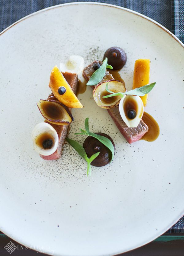 """One of my favourite new culinary finds for 2016 was FABER Restaurant at Avondale Wine Farm in Paarl. """"Refined dining"""" at FABER Restaurant."""