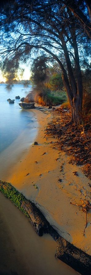 Idyllic beach in Dawesville, Western Australia. Photo: Christian Fletcher