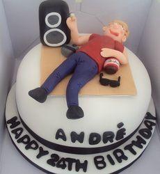 Drunk man cake!