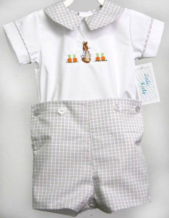Boys Easter Outfit Boy Easter Outfit 293317 Peter Rabbit Outfit for Boy Bunny Romper for Baby Boy Easter Outfit