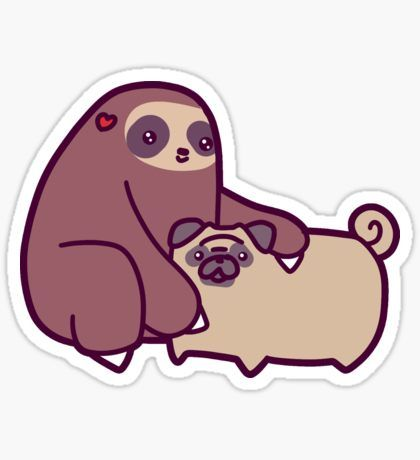 Shop from unique sloth stickers on redbubble perfect to stick on laptops phones walls everywhere