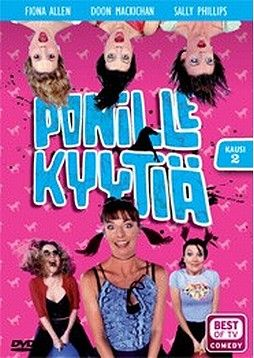 Ponille kyytiä 2.kausi dvd 4,99€