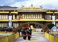 Norbulingka Palace Tibetan Buddhism combines the essential teachings of Mahayana Buddhism with Tantric and Shamanic, and material from an ancient Tibetan religion called Bon.