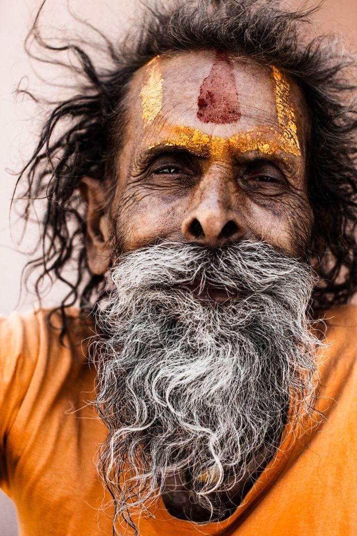 A Sadhu in Jaipur, India By Réhahn Photography