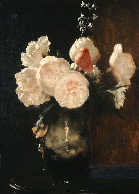 Flowers, 1895  Nikolaos Gyzis