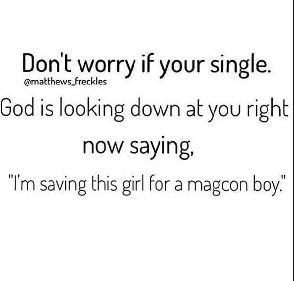 I absolutely love this! I like this because I love God and thats amazing! And i also love Magcon!