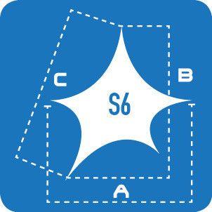 Lycra Sails - S6: 5 Point Sails