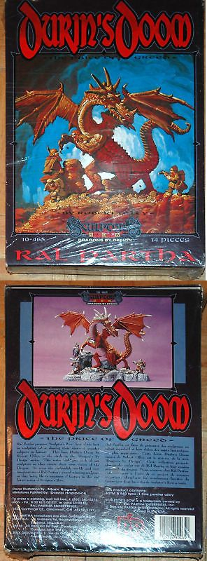 Ral Partha 16489: Ral Partha 10-465 Durin S Doom New Sealed -> BUY IT NOW ONLY: $135 on eBay!