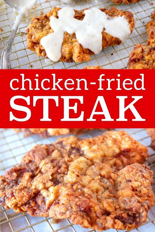 Chicken Fried Steak With Country Gravy Recipe Chicken Fried