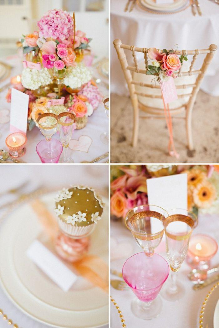 Blumen Tischdeko - Die Blumen Tischdeko auf der Hochzeitsfeier sorgt für viel Freude und Schönheit an diesem so wichtigen Tag für jedes Brautpaar. Zugleich