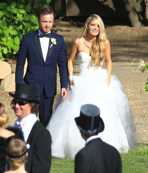 Like the dress. ~ Aaron Pauls Wedding Weekend Gallery!