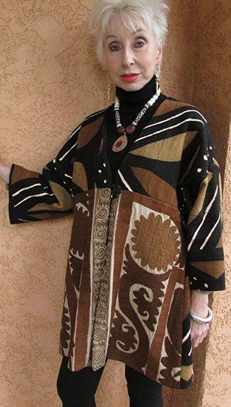 Mudcloth Suzani Jacket by Suzi Click
