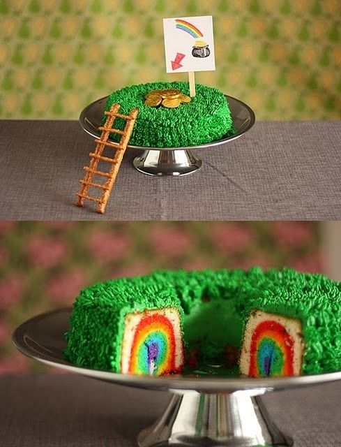 St. Patty's day cake.. Sooo cute! Too bad I'm not that motivated!