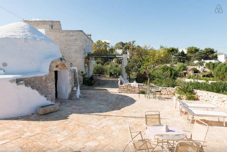 Trulli del Patriarca with pool for rent in Ostuni http://www.apuliarentals.com/english/trulli-for-rent-in-puglia/trulli-del-patriarca-with-pool/