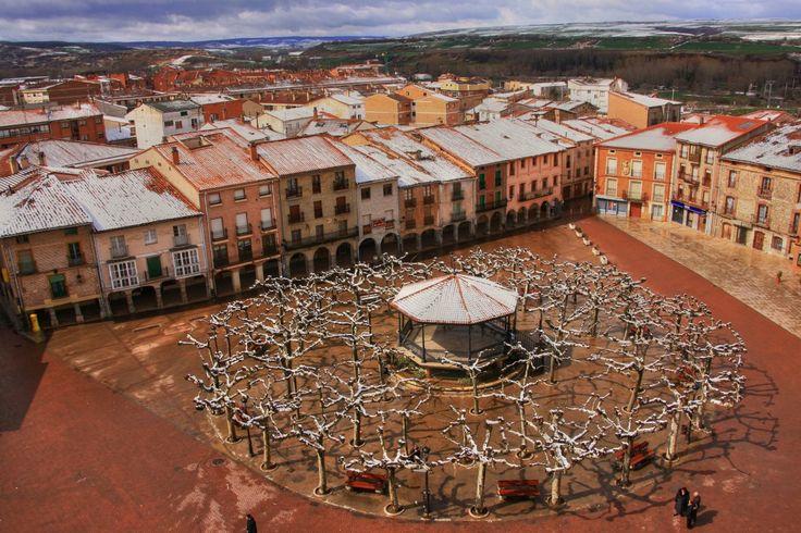 Plaza de Belorado, Burgos :: Albergues del Camino de Santiago