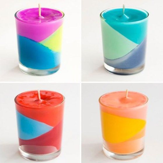 """""""Can't afford fancy xmas gifts - create your own unique candles with melted wax crayons & vanilla essence #studenthack #unidaysxbenefit """""""