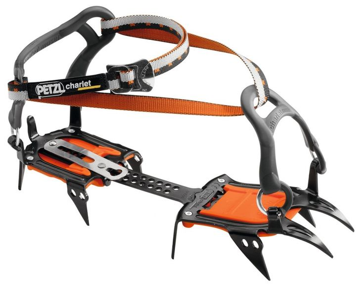 Petzl Irvis At 820 g per pair (FLEXLOCK), the 10-point IRVIS crampons are designed for glacier travel, ski mountaineering and snowy or icy approaches. They are lightweight and easy to use, making them a favorite in any conditions. Available with two different binding systems, these crampons can fit most boots, even those without welts. Durable and easy to adjust. They are equipped with ANTISNOW plates.