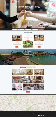 #hotel #WordPress #Theme light version