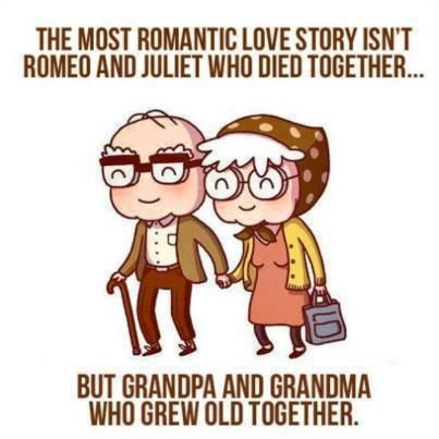 Old couples are adorable~ :3