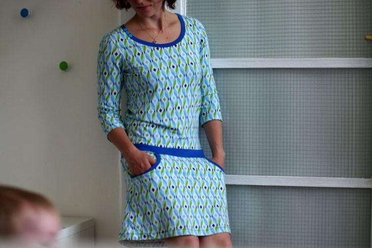 Jarní šaty Tante Ema | Breberka