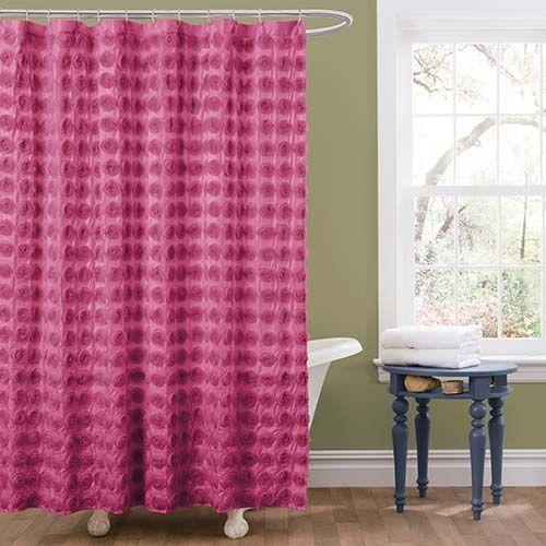 Light Pink Curtains Target: Best 25+ Pink Shower Curtains Ideas On Pinterest