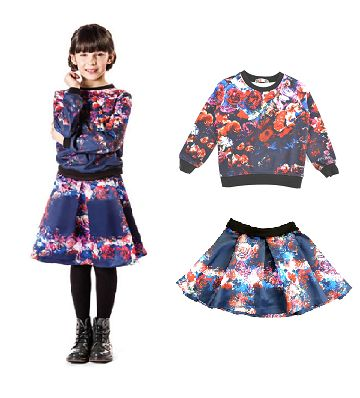 #MSGM FOR #GIRLS...    WWW.COCOCHIC.IT  #SHOPONLINE  http://www.cocochic.it/it/bambina/233-felpa-floreale-blu.html http://www.cocochic.it/it/bambina/330-gonna-duchesse-bimba.html