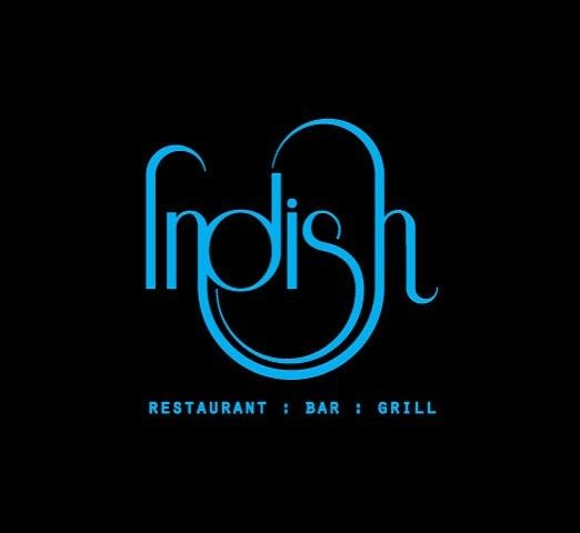 I really like this logo. They made the typography look like an actual dish. Great choice of the blue color over black. Very clean and bold.