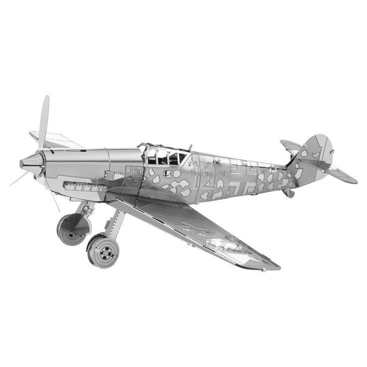 Metal Earth Model Kit Messerschmitt BF-109 Airplane