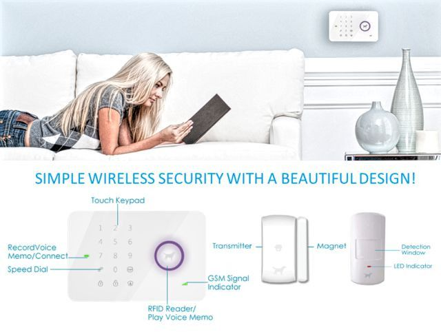 53 best WIRELESS SYSTEM images on Pinterest Security systems - installer une alarme maison