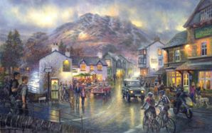 Outside, Out There, Coniston Signed Print by Graham Twyford