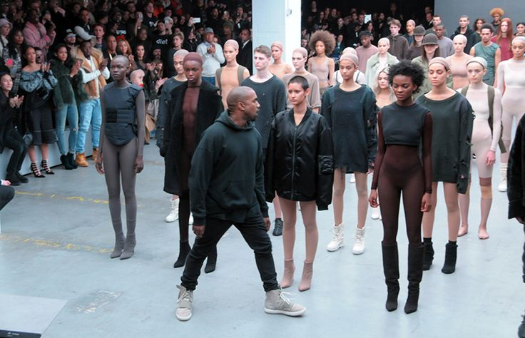 Mercedes Benz Fashion Week - Kanye West and Adidas, #Kanye West #nyfashionweek, Discover more at w​ww.covetedition.com