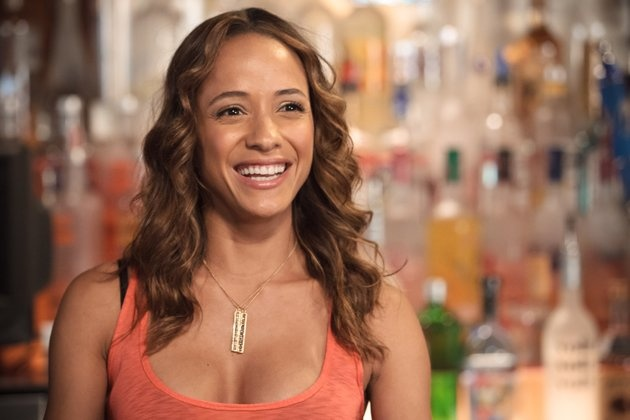 Dania Ramirez of American Reunion and Entourage wearing our Gold Vermeil Pendant Necklace. Get the look here http://www.chanluu.com/Necklaces-p/ns-9303websil.htm