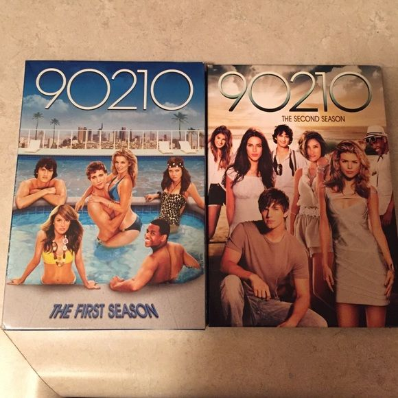 FINAL MARKDOWN!!! ABOUT TO BE DONATED!!! 90210 Season 1 and Season 2 on DVD. Both come with 6 discs. Perfect condition, watched once. Accessories