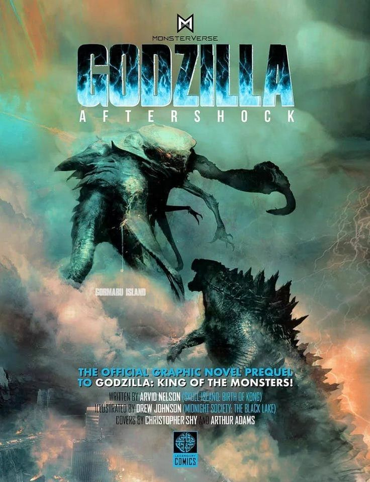 Godzilla King Of The Monsters Comic Prequel Has A New Titan Film Godzilla Monster Kaiju Monsters