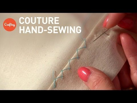 Couture Hand Sewing Stitches (Couture Finishing Techniques)   Tutorial with Alison Smith - YouTube