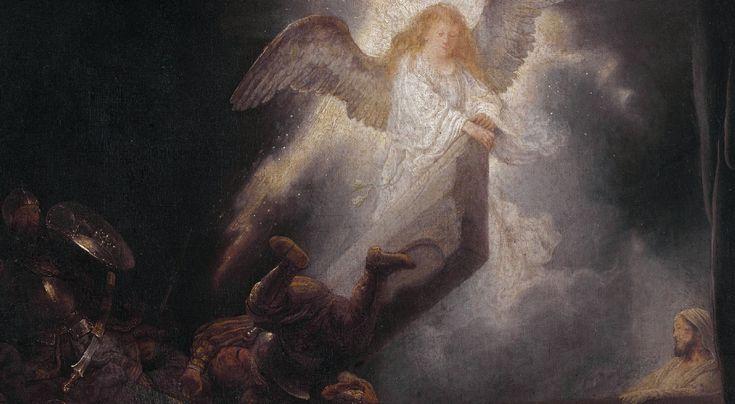 Wizja Rembrandta: Jezus jak Łazarz