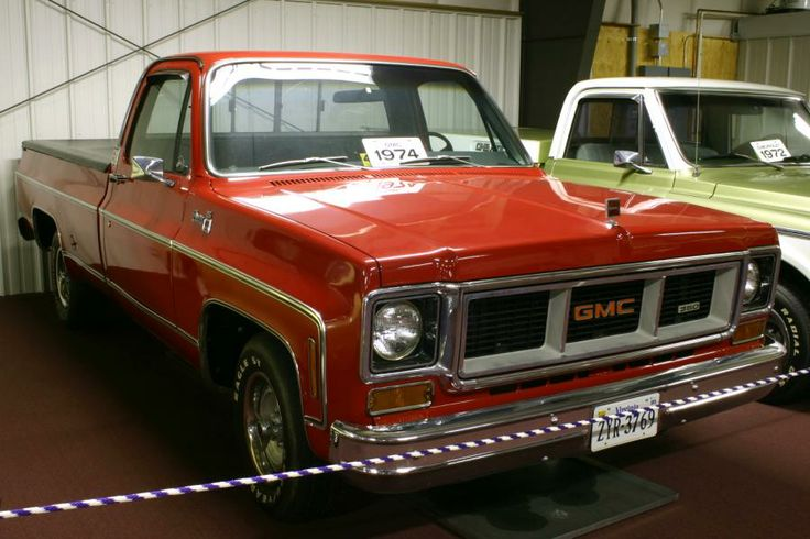 1974 GMC Pickup Truck -lots of trips to canada!