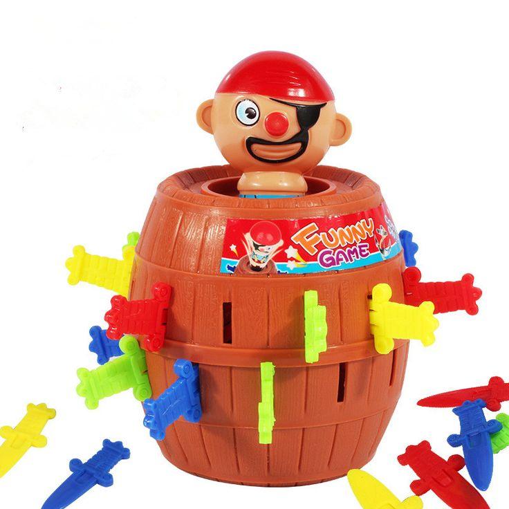 Бегущий человек пиратские баррелей партии игрушки Супер Интересно Пиратский Tricky Игрушки пират кризисных баррелей Роман и фантазии игрушки