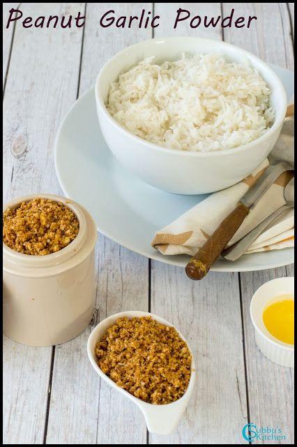 Peanut Garlic Podi Recipe | Spicy Peanut with Garlic Powder