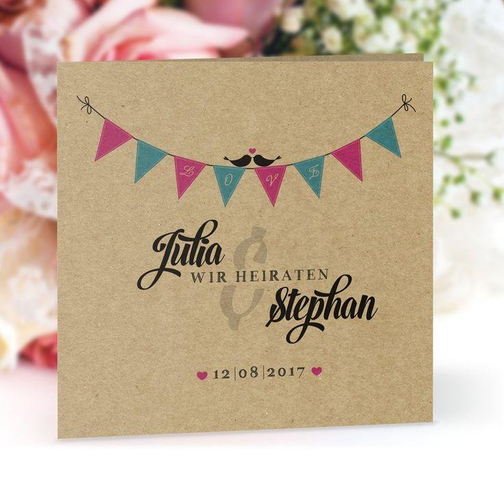 Einladungskarte Hochzeit Boho Style: https://www.meine-hochzeitsdeko.de/einladungskarte-hochzeit-boho-style