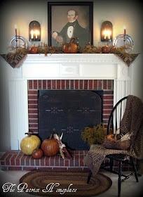 Fireplace Colonial Wood Cover Интерьеры Примитив