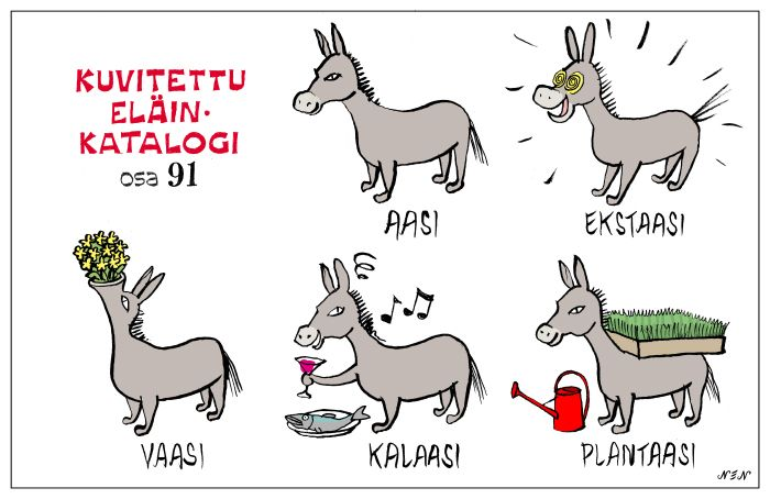 Eläinlajit 91 Learn Finnish!!