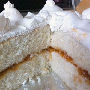 Perfect white cake specifically for high-altitude baking.