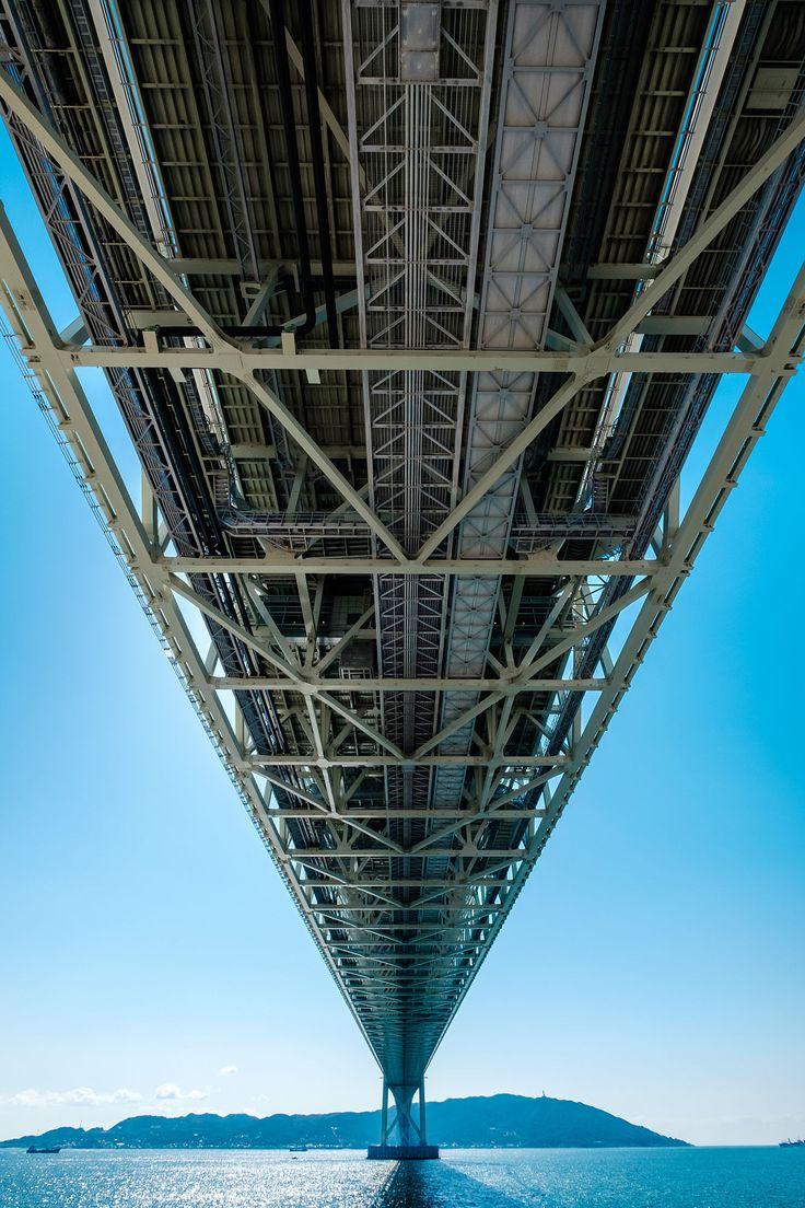 Akashi Kaikyo Bridge by SUPERIDOL on 500px